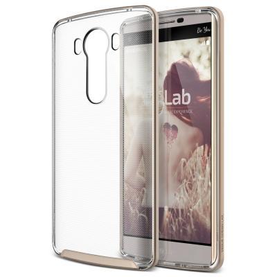 Verus Crystal Bumper Skal till LG V10 - Shine Gold