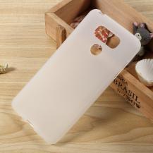 OEMMatte MobilSkal till LG G6 - Frost Vit