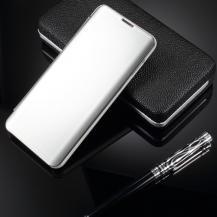TaltechWindow Mirror Fodral till Samsung Galaxy S10 - Silver