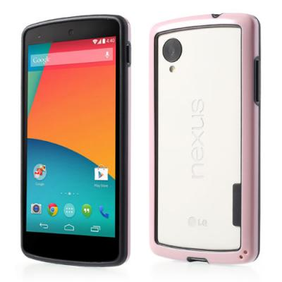 Bumper till LG Nexus 5 - Rosa