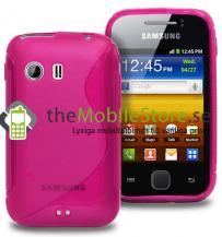 OEMFlexiCase Skal till Samsung Galaxy Y S5360 - (MAGENTA)
