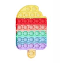 Fidget ToysPop it Fidget Toy - Flera Färger & Modeller - Glass - Ice Cream - Rainbow