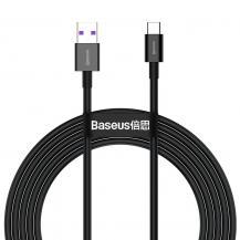 BASEUSBaseus Huawei Fast Charging USB Typ-C Kabel 2m - Svart