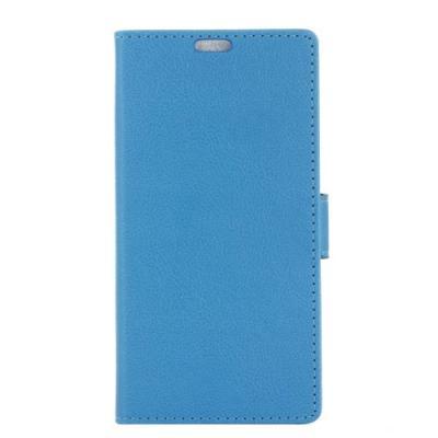 Plånboksfodral av konstläder till LG G5 - Blå