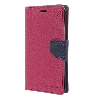 Mercury Fancy Diary Plånboksfodral till Samsung Galaxy Note Edge - Magenta