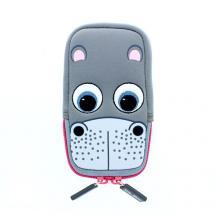 TabZooTabZoo Universal Mobilväska - Flodhäst