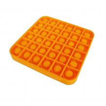 A-One BrandPop it Fidget Sensory Leksak - Fyrkant - Orange