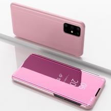 TaltechView Window Flip-Fodral till Samsung Galaxy S20 Plus - Rosa
