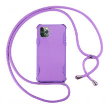 CoveredGear-NecklaceCoveredGear Necklace Case iPhone 11 Pro Max - Lila