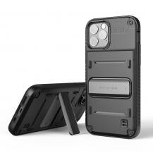 VERUSVRS DESIGN | Damda QuickStand Skal iPhone 12 & 12 Pro - Svart
