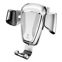 "BASEUSBaseus Gravity Bilhållare ventilation 4-6"" Silver"
