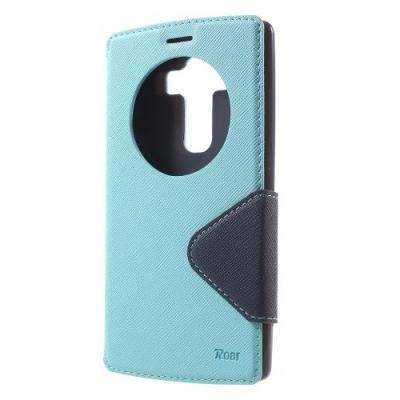 Roar Korea Fancy Diary Plånboksfodral till LG G4 - Ljusblå