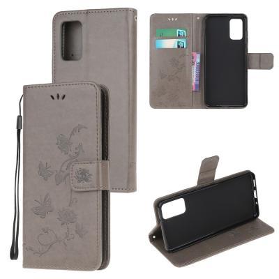 Butterfly Plånboksfodral till Samsung Galaxy S20 Plus - Grå