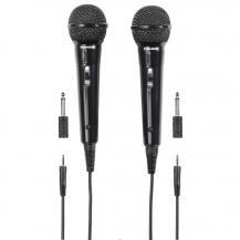 ThomsonTHOMSON Mikrofon M135D Dynamisk Svart 2-pack