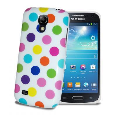 Polka Dot Skal till Samsung Galaxy S4 - Vit