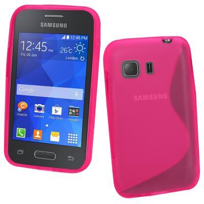 Flexicase Skal till Samsung Galaxy Young 2 - Magenta