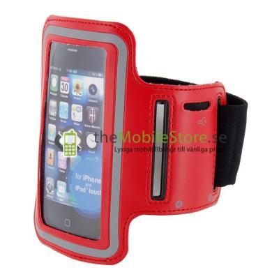Armband till iPhone 4 / 3GS (RÖD)