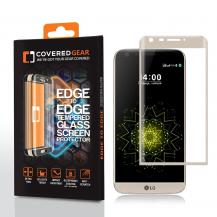 CoveredGearCoveredGear Edge to Edge härdat glas till LG G5 - Gold
