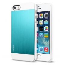 SpigenSPIGEN Case Saturn Skal till Apple iPhone 5/5S/SE (Metal Mint)