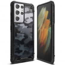 RingkeRINGKE Fusion X mobilskal Till Galaxy S21 Ultra Camo Svart