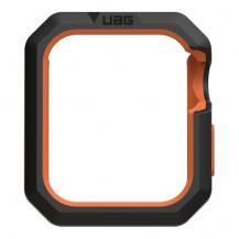 UAGUAG Apple Watch 40/38mm Civilian Case, Black/Orange