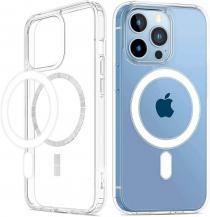 A-One BrandMagsafe Skal iPhone 13 Pro - Transparent