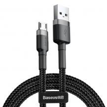 BASEUSBaseus Cafule Micro-Usb Cable 100 cm Grå / Svart