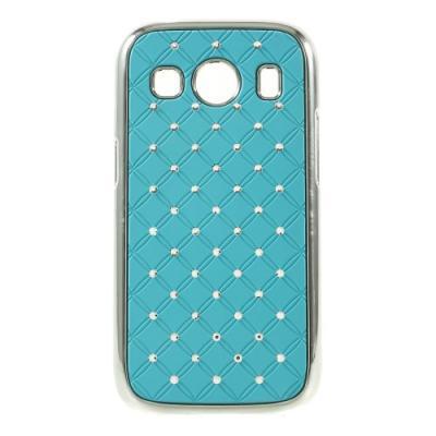 Diamante Skal till Samsung Galaxy Ace 4 (G357) - Ljusblå