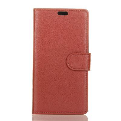 Litchi Plånboksfodral till Sony Xperia L2 - Brun