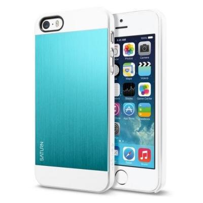SPIGEN Case Saturn Skal till Apple iPhone 5/5S/SE (Metal Mint)