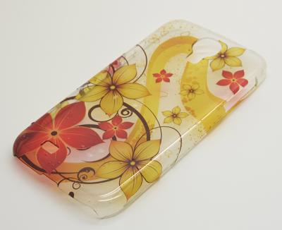 Baksidesskal till Samsung Galaxy S4 i9500 - Blomster