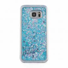 CoveredGearGlitter Skal till Samsung Galaxy S7 - Blå