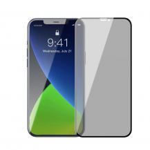 BASEUSBaseus 2x Anti Spy Härdat glas iPhone 12 Pro Max Svart