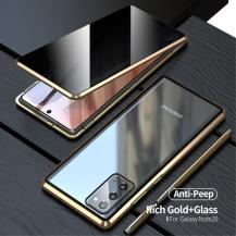 OEMMagnetic Metal Skal Till Galaxy Note 20 - Gold