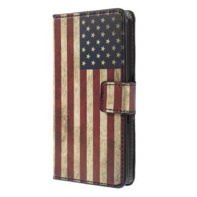 Plånboksfodral till Sony Xperia E4g - America