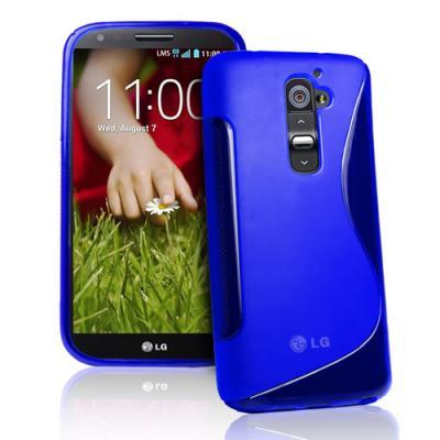 FlexiCase Skal till LG G2 (Blå)