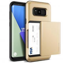 VERUSVerus Damda Glide Card Slot Skal till Samsung Galaxy S8 - Gold
