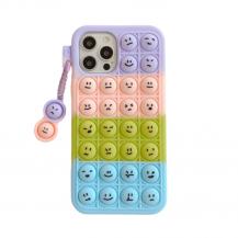 Fidget ToysEmojis Pop it fidget skal till iPhone 7/8/SE 2020