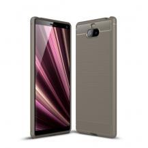 A-One BrandKolfiberskal för Sony Xperia 10 Plus - Grå