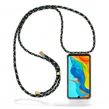 CoveredGear-NecklaceCoveredGear Necklace Case Huawei P30 Lite - Green Camo Cord