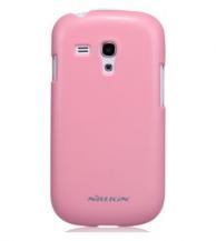NillkinNillkin Baksideskal tillSamsung Galaxy S3 mini i8190 (Rosa) + Skärmskydd
