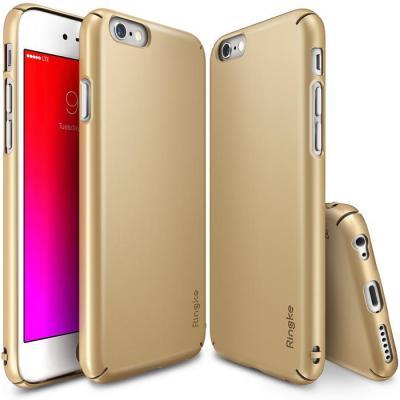Ringke Slim Skal till Apple iPhone 6 6S Plus - Gold billigt online ... 799dd2dea92d8