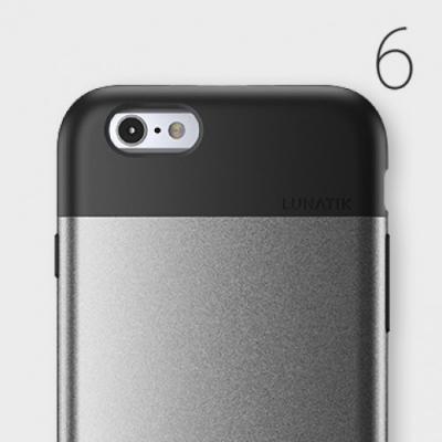 Lunatik Flak Skal till Apple iPhone 6 / 6S - Silver