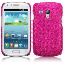 TerrapinBling Bling Skal till Samsung Galaxy S3 mini i8190 (Magenta)