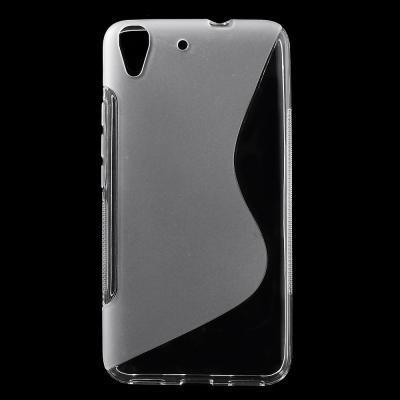 Curve Mobilskal till Huawei Y6 - Transparent
