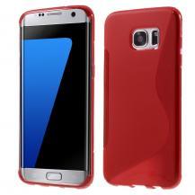 OEMFlexicase Skal till Samsung Galaxy S7 Edge - Röd