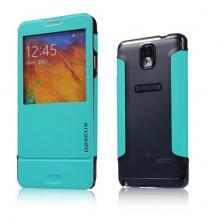 BASEUSBASEUS Folio fodral till Samsung Galaxy Note 3 N9000 (Turkos)