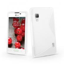 A-One BrandFlexiCase Skal till LG Optimus L5 II - E460 - (Vit)