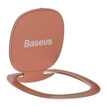 BASEUSBaseus Ringhållare ultratunn Självhäftande kickstand Rosa