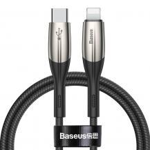 BASEUSBaseus USB Kabel Type C PD/lightning 18W QC 3.0 1m Svart